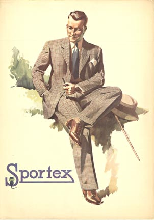 Anonymous Artists - Sportex (Hat/walking stick) border=