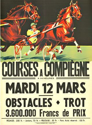 Courses a Compiegne, Anonymous Artists
