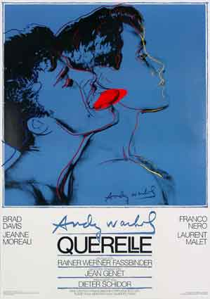 Querelle blue, Andy Warhol