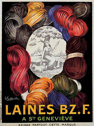 Leonetto Cappiello - Laines Bz.F. border=