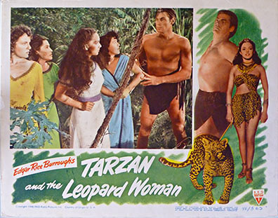 Anonymous Artists - Tarzan and the Leopard Woman border=