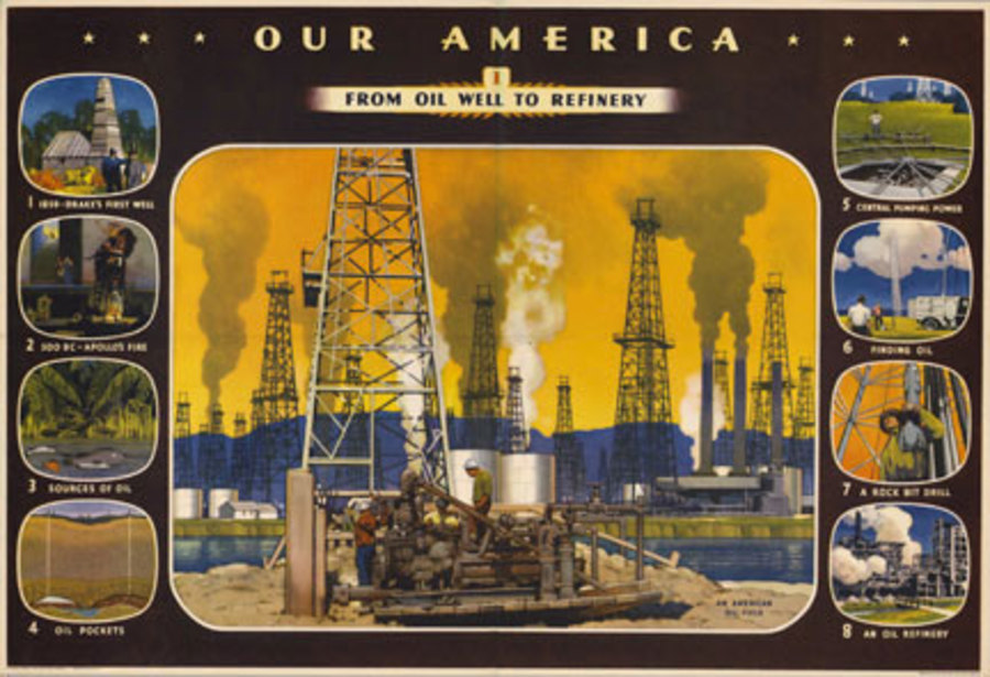 Coca Cola - Our America Oil #1 border=