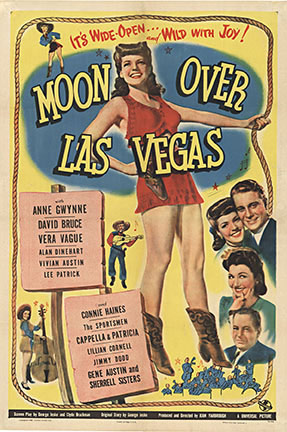 Anonymous Artists - Moon Over Las Vegas border=
