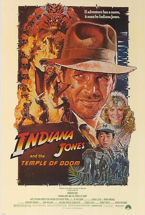 Indiana Jones Temple of Doom, Drew Struzan