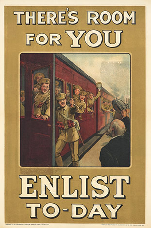 W. A. Fry - There's Room For You ENLIST TO-DAY border=
