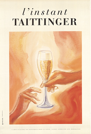 Taittinger Glass & Hands, Anonymous Artists
