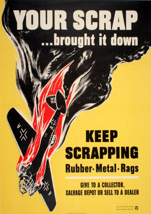 Your Scrap Brought It Down Steve Broder The Vintage Poster