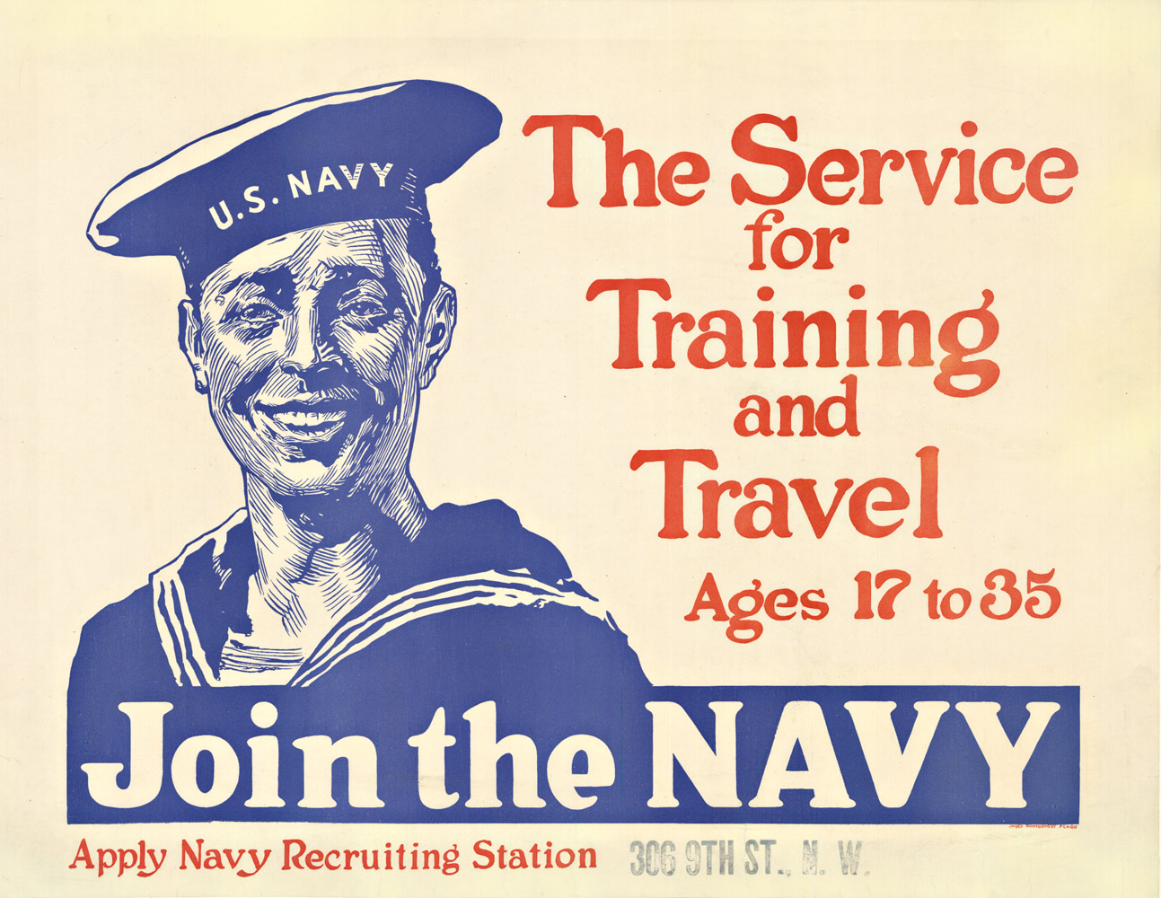 Join the Navy, James Montgomery Flagg