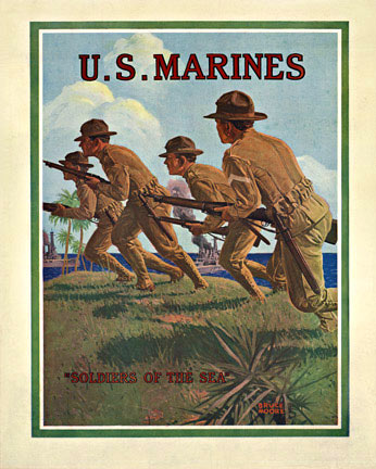 U. S. Marines - Soldiers of the Sea, Bruce Moore
