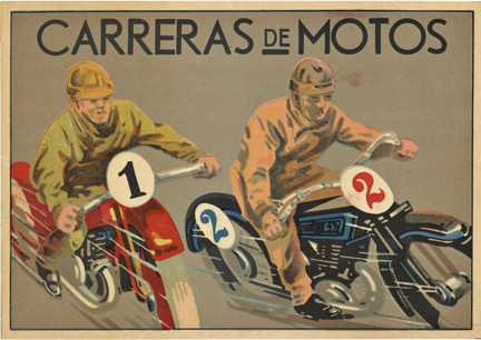 Carreras de Motos, Anonymous Artists