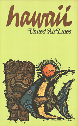 Hawaii - United Air Lines, Jebary