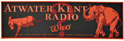 Anonymous Artists - Atwater Kent Radio Who border=