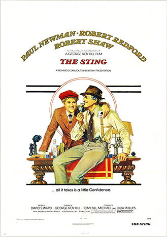 Richard Amsel - The Sting border=