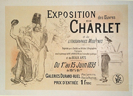 Exposition de Charlet, Adolphe Leon Willette