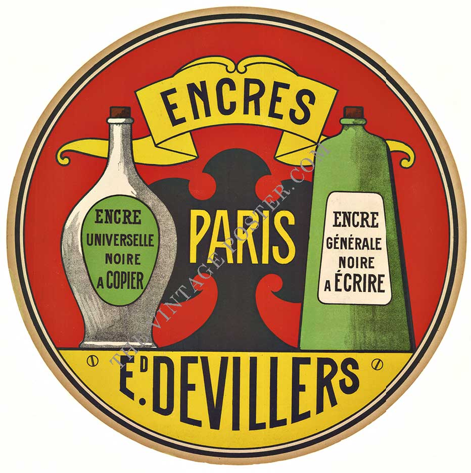 Anonymous Artists - ENCRES PARIS DEVILLERS border=