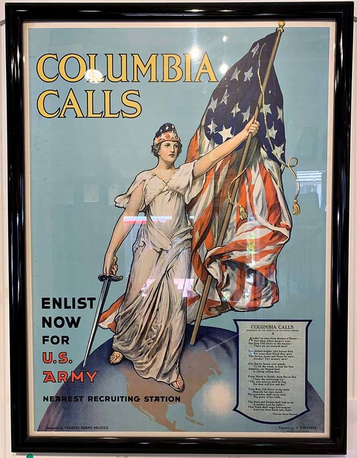 V. Aderente - Columbia Calls - Enlist Now for U.S. Army