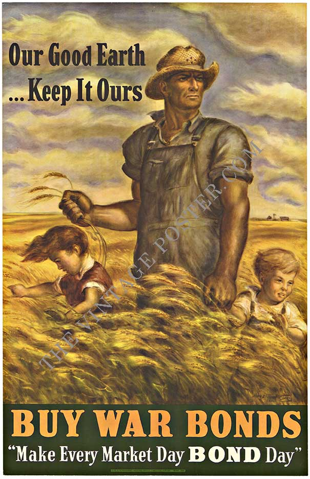 Our Good Earth Keep It Our John Steuart Curry The Vintage Poster