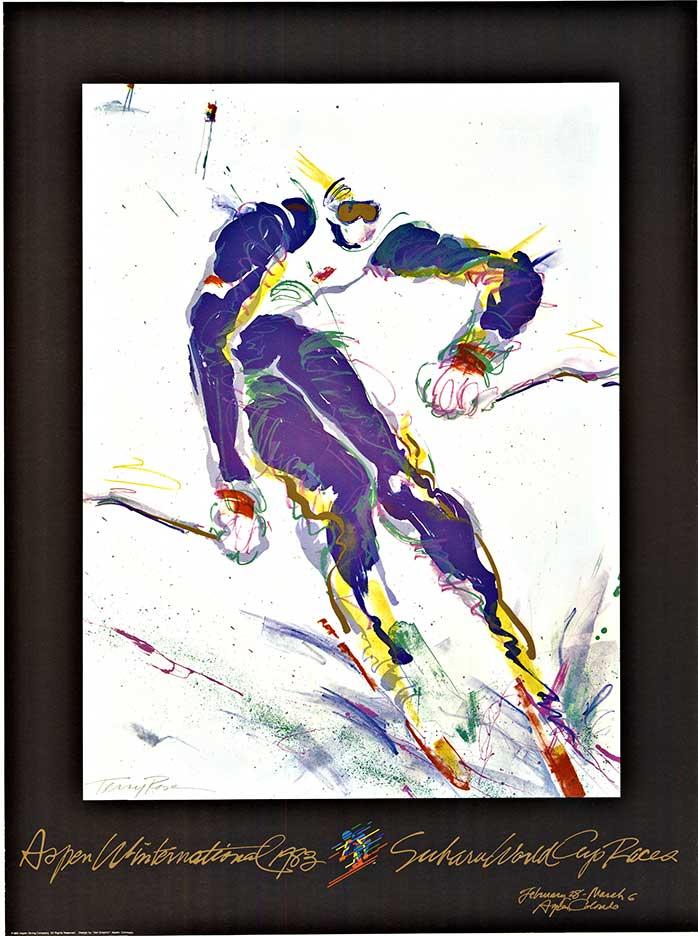 Aspen Winternational Terry Rose The Vintage Poster