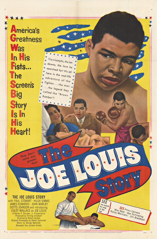 The JOE LOUIS STORY   Anonymous Artists   The Vintage Poster