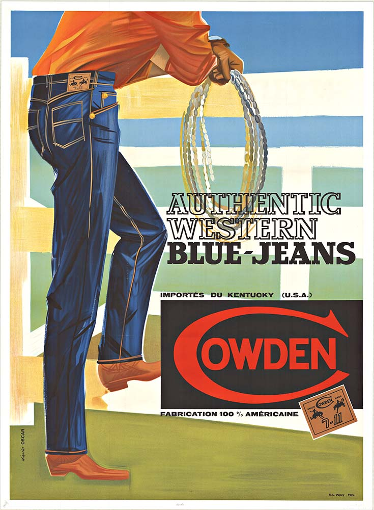 Anonymous Artists - COWDEN BLUEJEANS border=