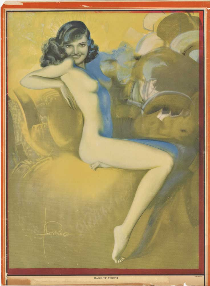 Rolf Armstrong - RADIANT YOUTH border=