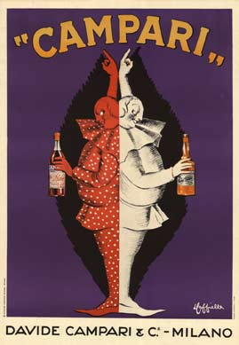 Leonetto Cappiello - Davide Campari (later edition) border=