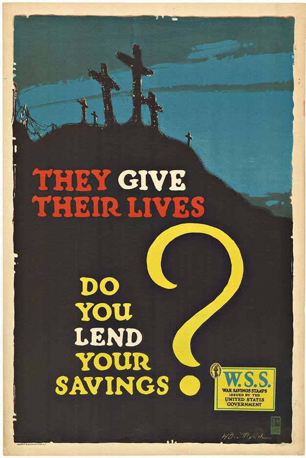They Give Their Lives Do You Lend Your Savings?, Welsh Devitt