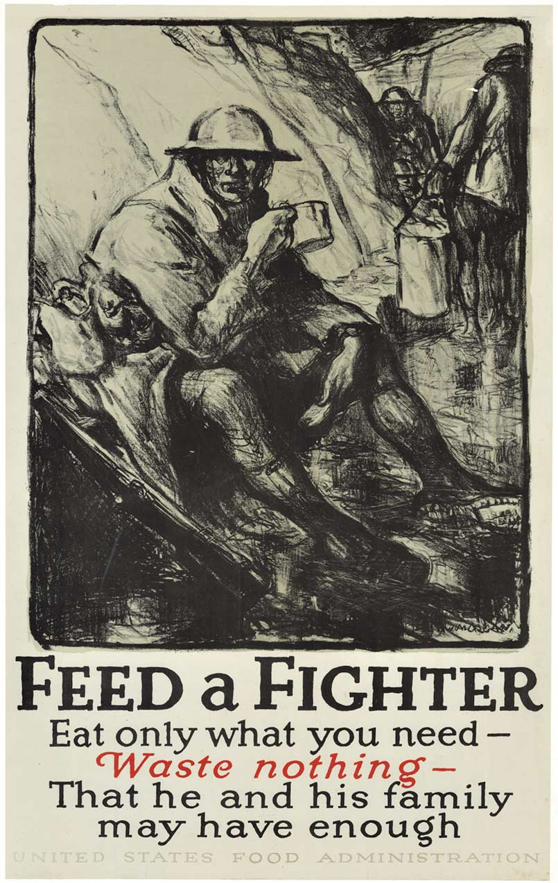 Feed a fighter, Morgan