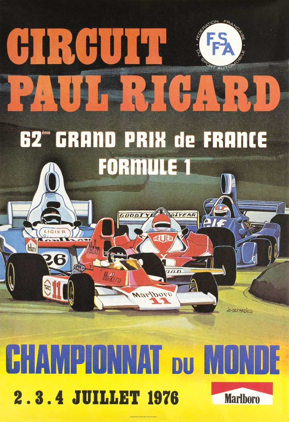 Circuit Paul Ricard, J. D. Depardieu