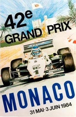 Monaco 1984 - 42nd Grand Prix, P. Beronquier