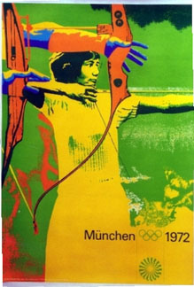 Anonymous Artists - Munich 1972 Olympics  Archery border=