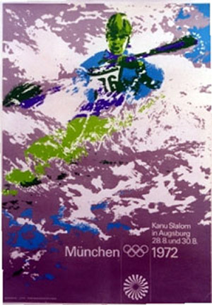 Anonymous Artists - Munich 1972 Olympics  River border=