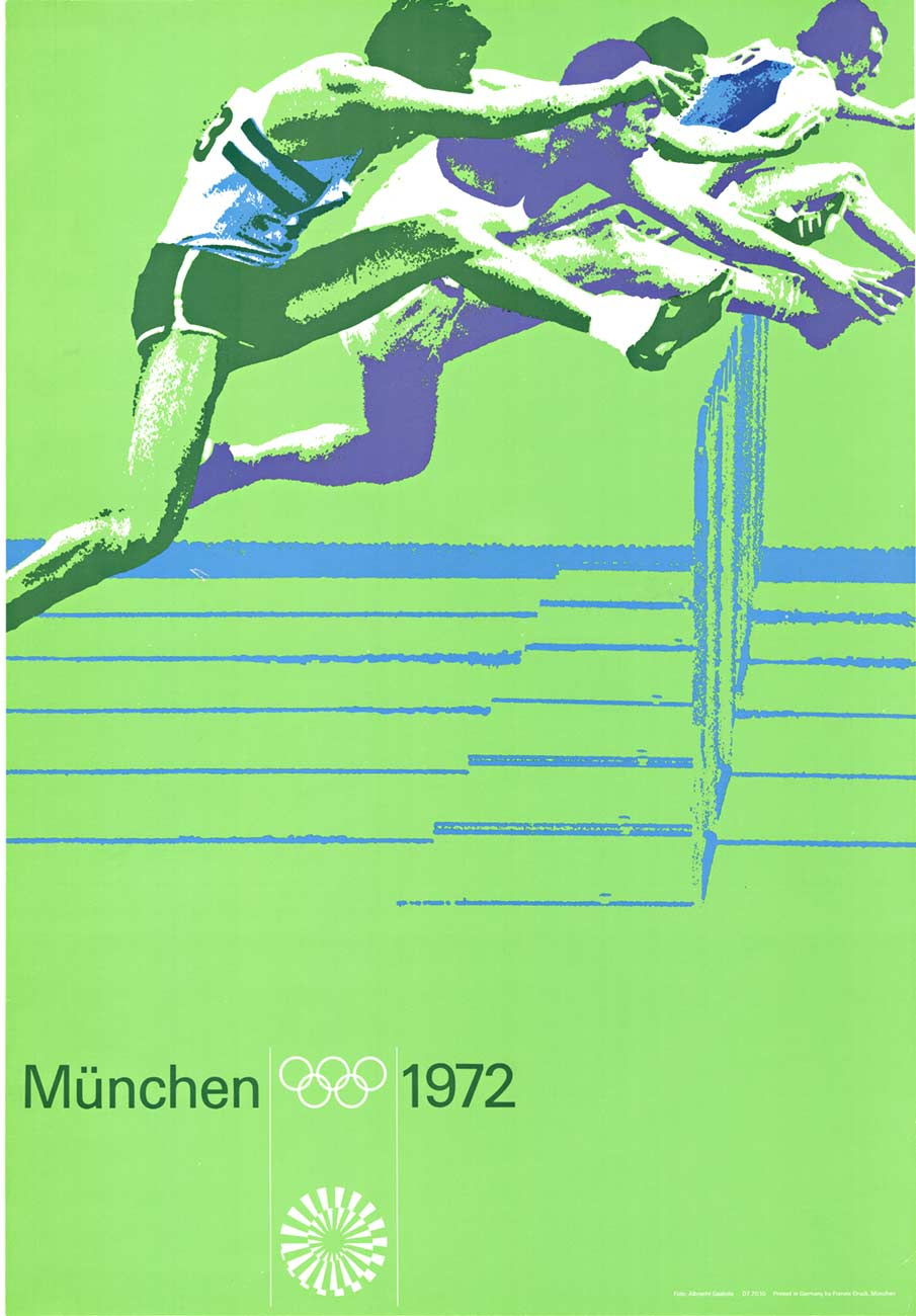Anonymous Artists - Munich Olympics  1972 track border=