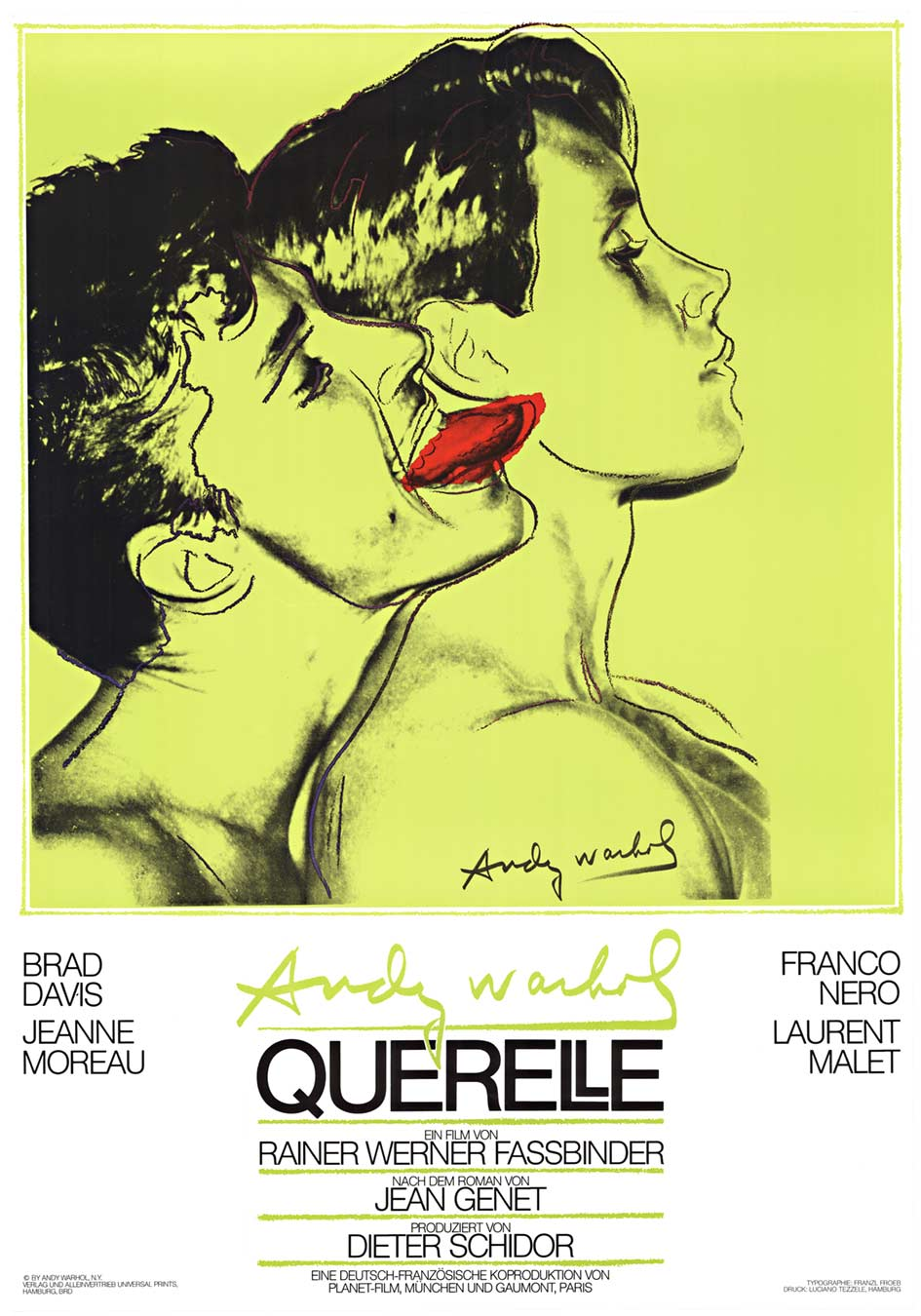 Querelle - Green, Andy Warhol