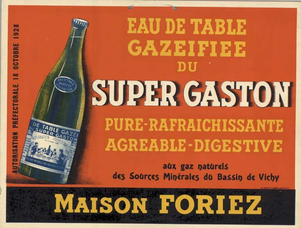 Super Gaston- Eau De Table, Anonymous Artists