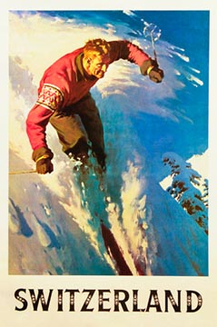 Switzerland - Ski, Anonymous Artists