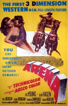 Arena  The First 3 Dimension Western, Anonymous Artists