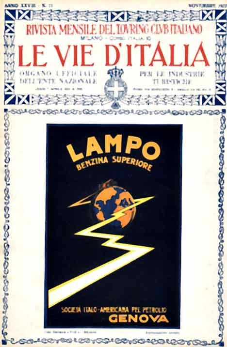 Le Vie D'Italia- Lampo with Lightening, Anonymous Artists