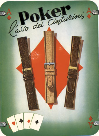 Poker- Watch Bands, Morandini