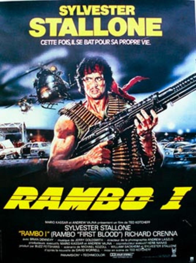 Rambo I Renato Casaro The Vintage Poster