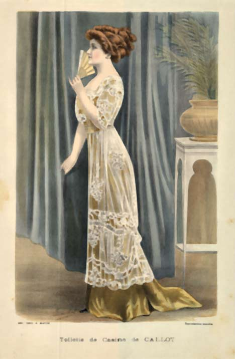 Ladies' Fashion- Toilette de Casino de Callot, A. Souchel