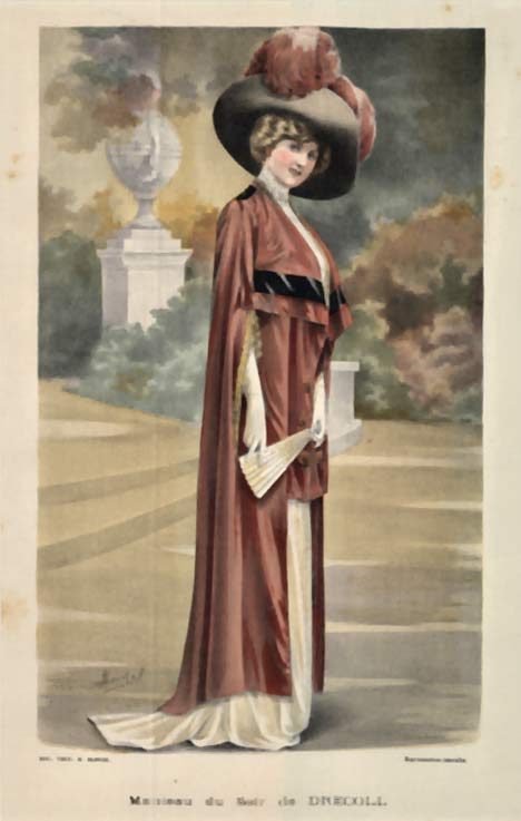 Ladies' Fashion- Manteau du Soir Drecoll, A. Souchel