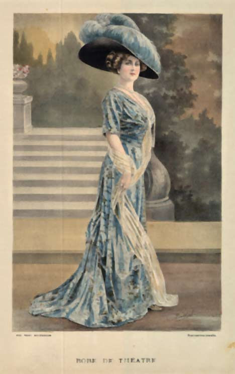 Ladies' Fashion- Robe de Theatr�, A. Souchel
