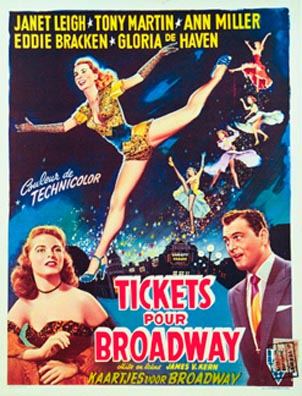 Tickets to Broadway, Anonymous Artists