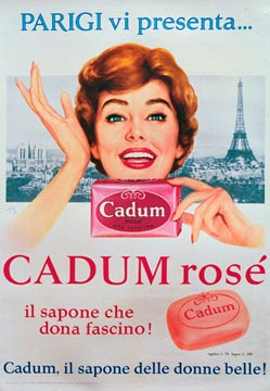 Anonymous Artists - Cadum Rose Soap border=