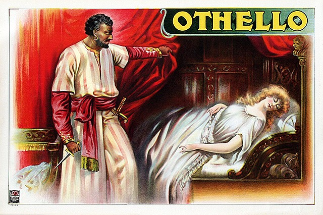 Anonymous Artists - Othello and Desdemona border=
