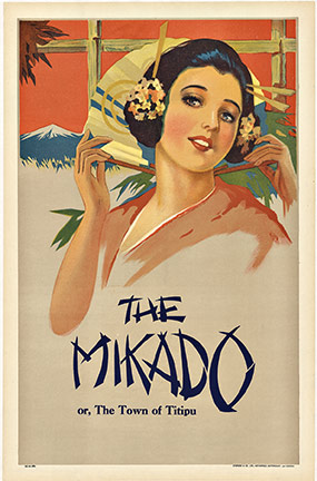 The Mikado, Anonymous Artists