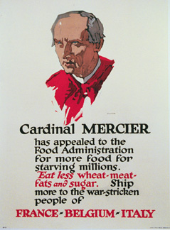 George John Illion - Cardinal Mercier border=