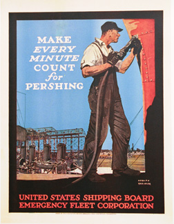 Make Every Minute Count For Pershing, Adolf Treidler