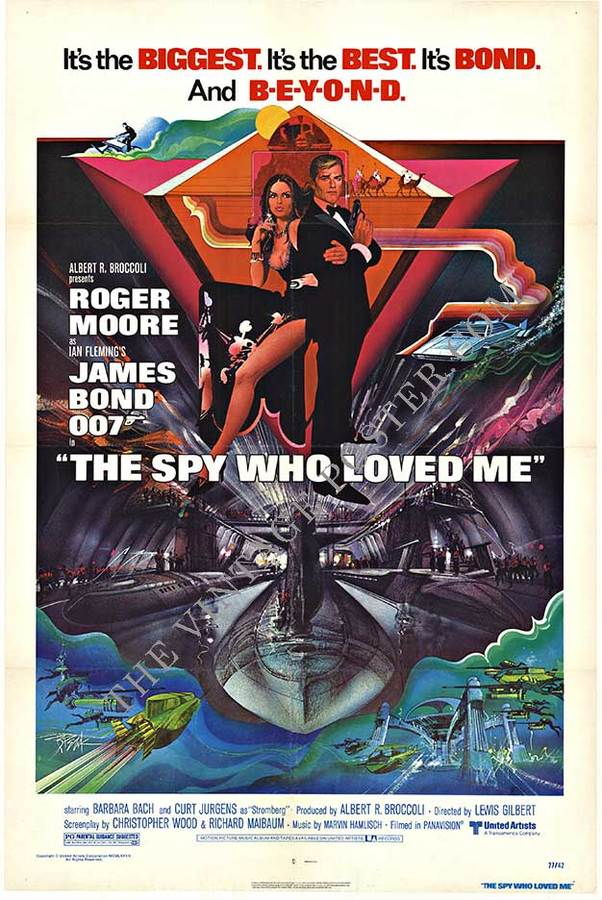 The Spy Who Loved Me, Bob Peak